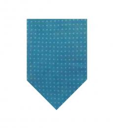 Calvin Klein Blue Pop Dot Tie