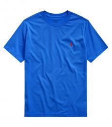 Ralph Lauren Boys Sistine Blue Crewneck T-Shirt