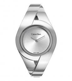Calvin Klein Silver Dial Watch