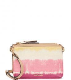 Calvin Klein Multicolor Tie-Dye Medium Crossbody Bag