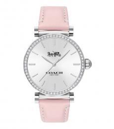Coach Light Pink Madison Watch
