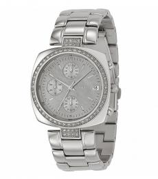 DKNY Silver Mother-of-pearl Dial Watch