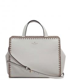 Kate Spade White Well Street Medium Satchel