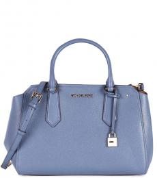 Denim Hayes Large Satchel
