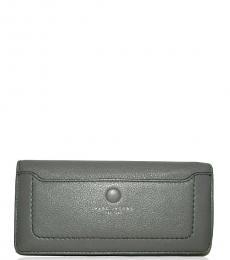 Marc Jacobs Dark Grey Bifold Logo Wallet