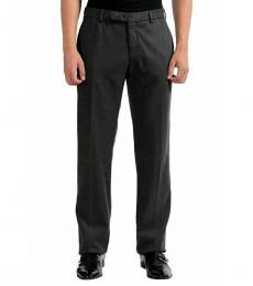 Armani Collezioni Grey Casual Dress Pants