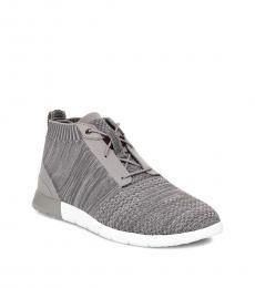 Grey Freamon Hyper Weave Sneakers