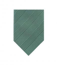 Calvin Klein Green Tech Glen Skinny Tie