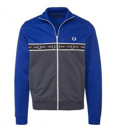 Fred Perry Turquoise Logo Embroidery Jacket