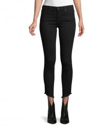 AG Adriano Goldschmied Moonless Frayed Ankle Skinny Jeans