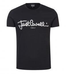 Black Graphic Logo T-Shirt