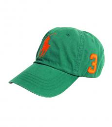 Ralph Lauren Green Baseball Golf Cap
