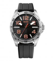Hugo Boss Black Orange Silicone Watch