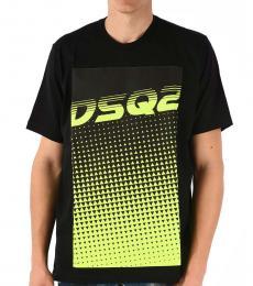Black Embroidery Logo T-Shirt