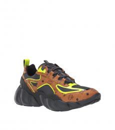 MCM Cognac Himmel Sneakers