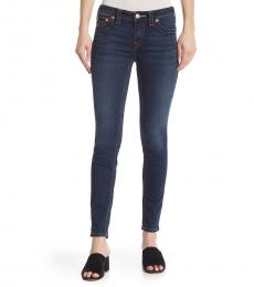True Religion Dark Blue Jennie Curvy Skinny Jeans