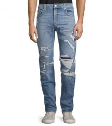 Resurrection Ryley Skinny-Fit Distressed Jeans