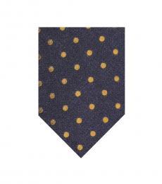 Ralph Lauren Purple Polka Dot Tie