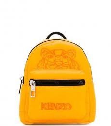 Kenzo Yellow Logo Mini Backpack