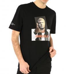 Neil Barrett Black Graphic Printed T-Shirt