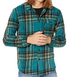 Teal Furnace Flannel Shirt