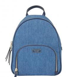 Kate Spade Denim Dawn Medium Backpack