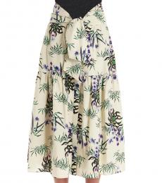 Multi color All Over Print Skirt