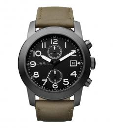 Marc Jacobs Olive Chronograph Watch