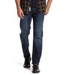 Lucky Brand Dark Blue Original Straight Leg Jeans