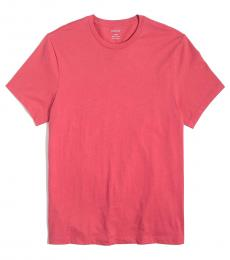 J.Crew Coral Washed Jersey T-Shirt