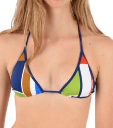 Dsquared2 Blue Striped Bikini