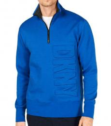 DKNY Dark Blue Fall Zip Sweatshirt