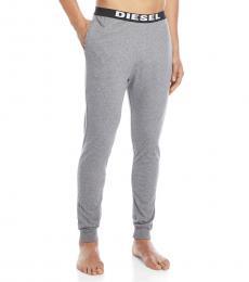 Diesel Grey Logo Pajama Joggers