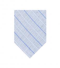 Calvin Klein Royal Blue Stripe Bold Tie