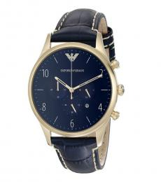 Emporio Armani Blue Classic Watch