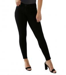 True Religion Black Jennie Curvy Skinny Jean