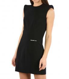 Dsquared2 Black Mini Bodycon Dress