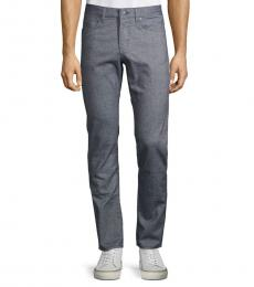 Hugo Boss Grey Textured Slim Jeans