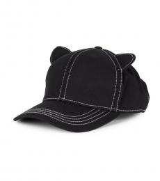 Black Cat Ears Baseball Cap