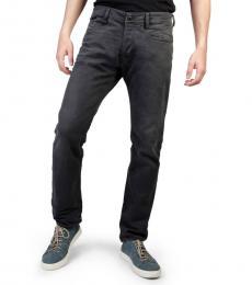 Diesel Dark Grey Akee Solid Jeans
