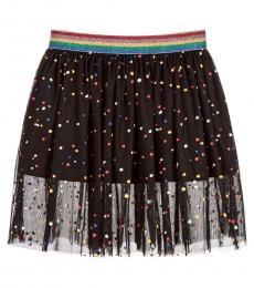 Stella McCartney Girls Black Amalie Skirt