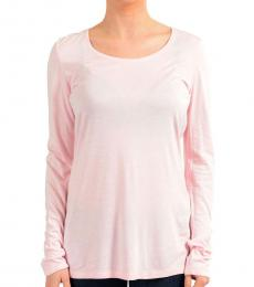 Light Pink Crewneck Long Sleeve Top