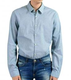 Blue Extra Slim Long Sleeve Shirt