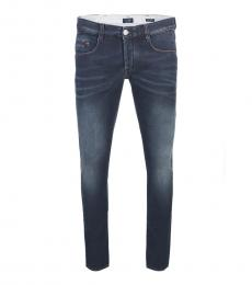 Armani Jeans Dark Blue Extra Slim Fit Jeans