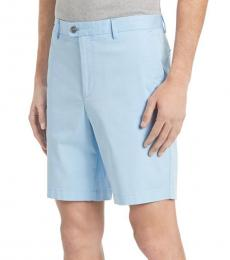 Calvin Klein Blue Control Classic-Fit Chino Shorts