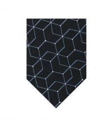 Calvin Klein Black Constellation Tie