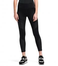 DKNY Black High-Waist Legging