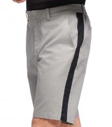DKNY Grey Bedford Stripe Shorts
