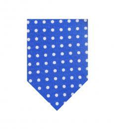 Ralph Lauren Blue Polka Dot Tie