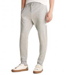 Love Moschino Grey Peace Logo Sweatpants